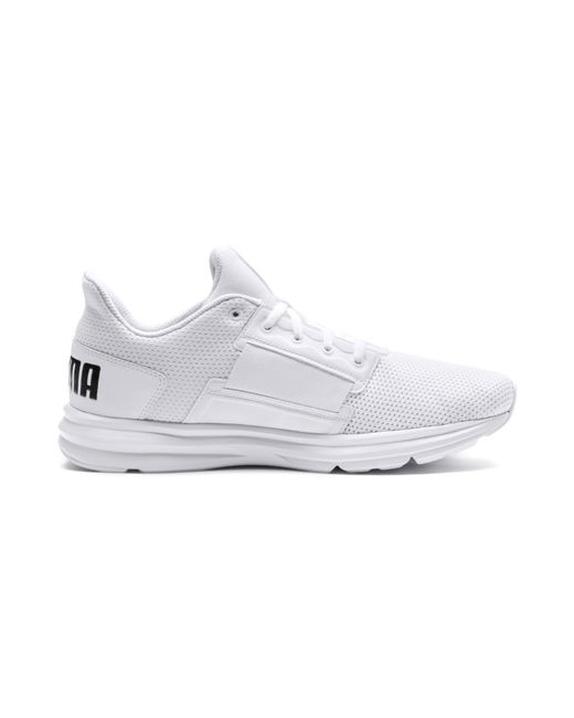 2373eed64f7 Lyst - PUMA Enzo Street Running Shoes in White for Men - Save ...