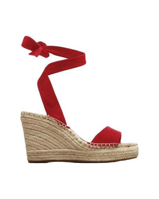 9ee7e67fa19 Lyst - Kenneth Cole Odile Espadrille Wedge in Red - Save 78%