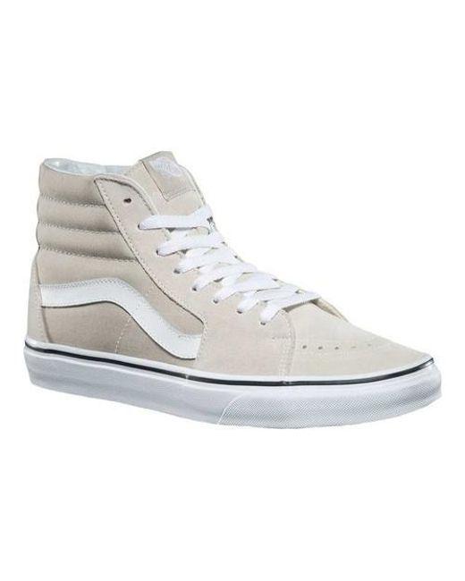 c4ea65750cc8 Lyst - Vans Unisex Sk8-hi Top Sneaker in White