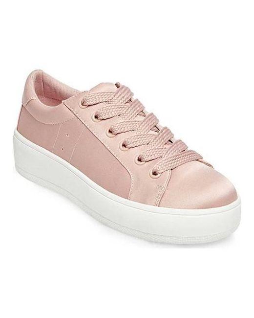 97e9a61183f Lyst - Steve Madden Bertie Platform Sneaker in Pink - Save 29%