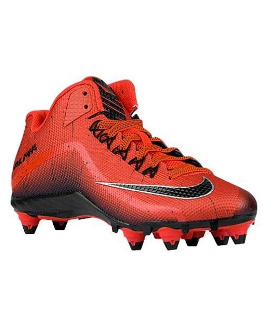 ... Nike | Red Mens Alpha Pro 2 3/4 Td Football Cleats for Men |