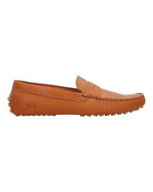 Lacoste - Brown Concours 116 1 Driving Moc for Men - Lyst