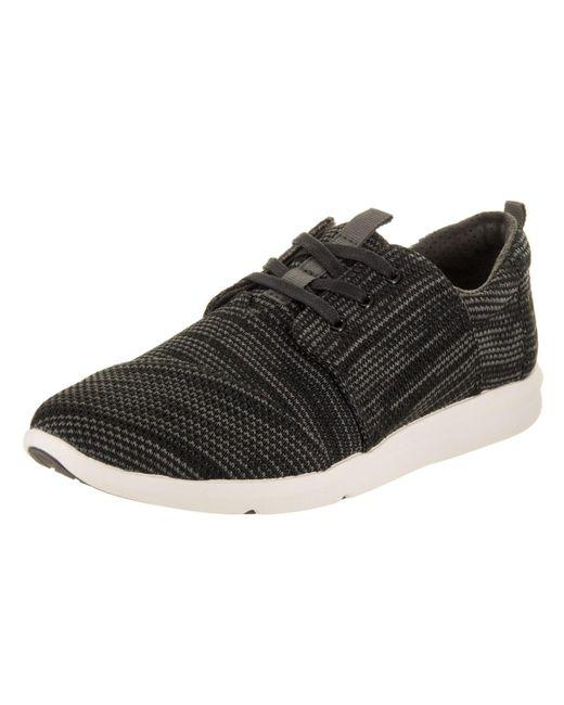 TOMS - Black Del Rey Sneaker - Lyst