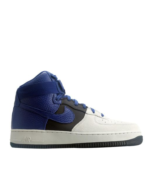 ... Nike | Blue Air Force 1 High '07 Lv8 Basketball Shoes Size 12 for Men  ...