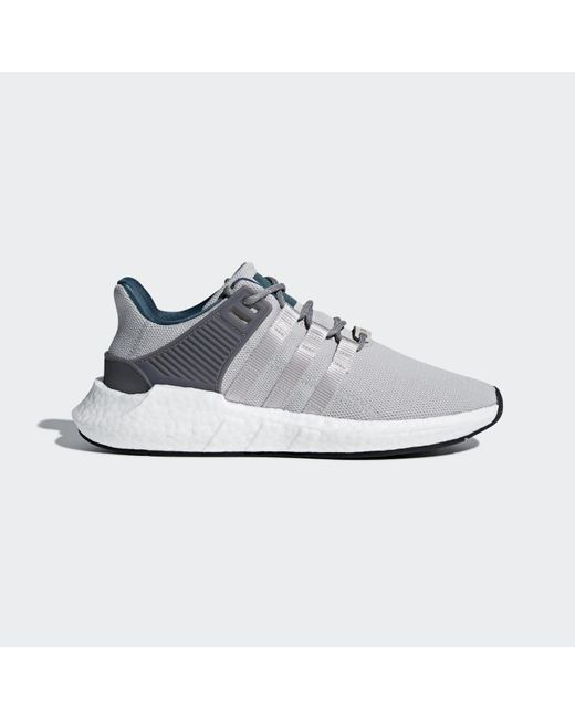 reputable site 53b59 7c9df ... Adidas - Gray Equipment Support 9317 Sneaker for Men - Lyst ...