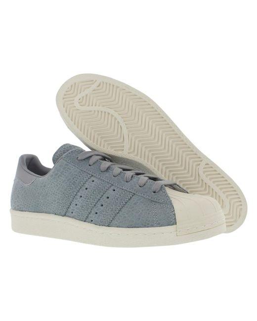 adidas superstar degli anni '80 lyst casual scarpe taglia in gray salvare 8%