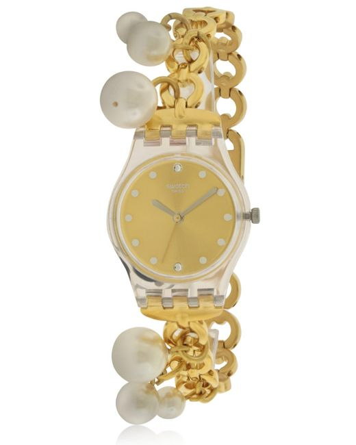 Swatch - Metallic Charming Delight Ladies Watch Lk363g - Lyst