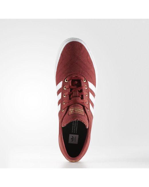 Lyst adidas adiease Premiere ADV zapatos en rojo para hombres ahorra 26%