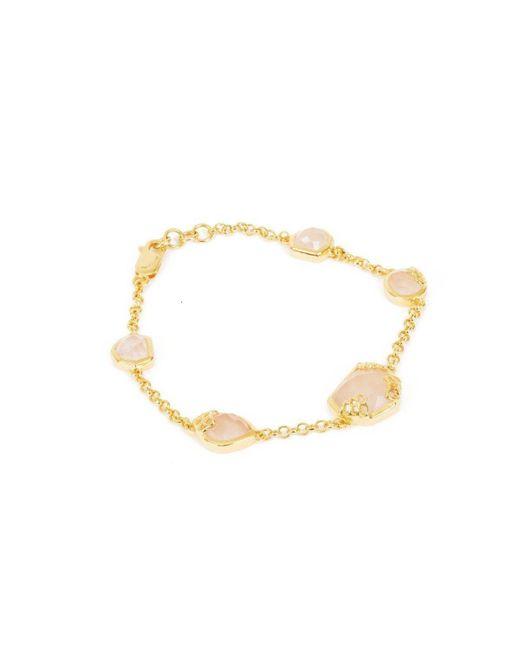Neola - Metallic Honeycomb Gold Bracelet - Lyst