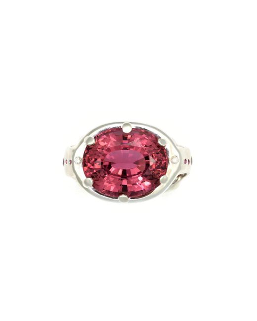 Donna Pizarro Designs - Sterling Silver 20ct Pink Tourmaline Ring - Lyst