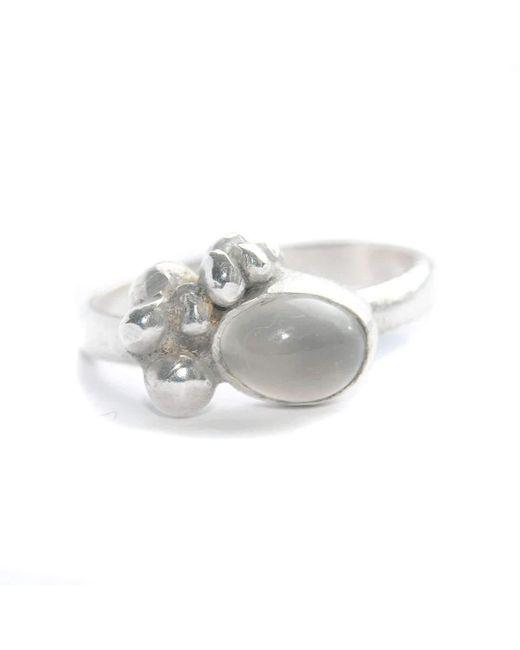 Rebecca Pratt Jewellery | Metallic Moon Stone Ring | Lyst