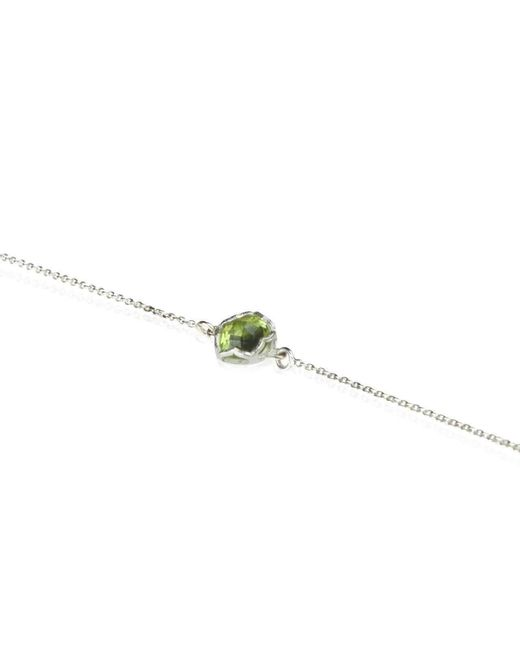 Zefyr Dosha Necklace Sterling Silver With Peridot RaCHkfr3