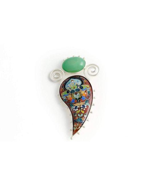 Kimili | Multicolor Blooming Flower Brooch | Lyst