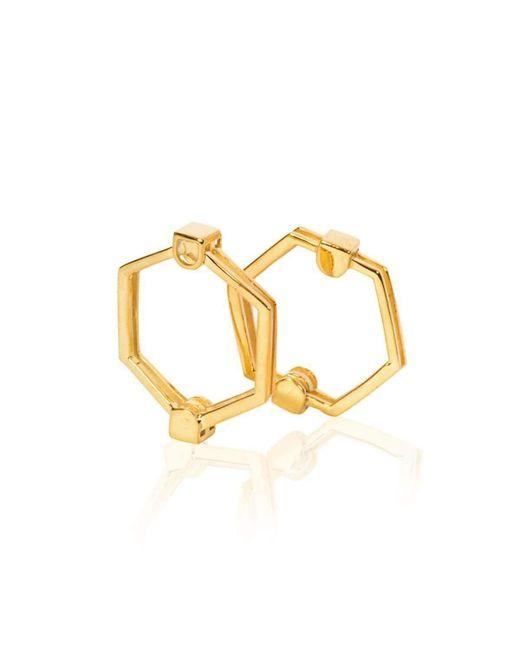 Xiaohe Shen | Metallic The Gold Hexagon Ring | Lyst
