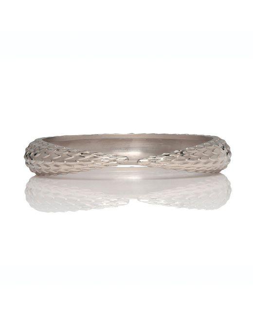 Marina Skia - Metallic Viper Silver Bracelet - Lyst