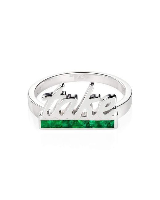 Maria Kovadi Fine Jewellery - Metallic Take Ring - Lyst