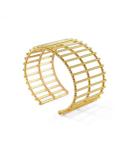 Cara Tonkin Gold Theda Stripe Cuff yTpwRaeEv