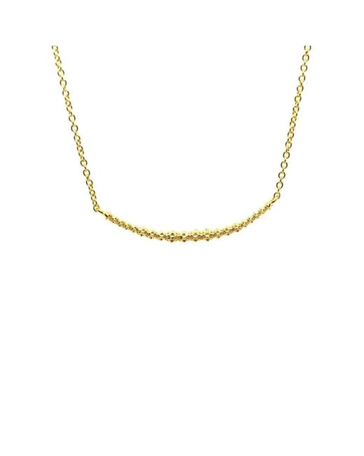 Willow and Clo - Metallic Lava Line Necklace - Lyst