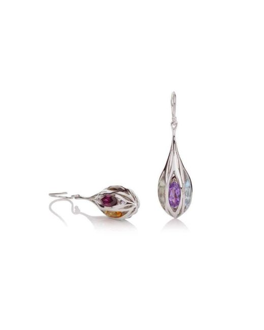 MANJA Jewellery - Metallic Riana Earrings - Lyst