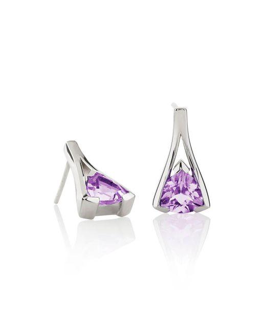 MANJA Jewellery - Multicolor Valentine Amethyst Earrings - Lyst