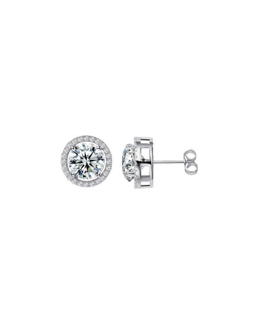 H.Azeem - Royal White Earrings - Lyst