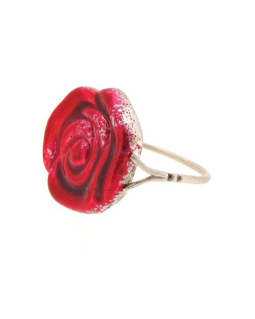 Sian Bostwick Jewellery - Wonderland Painting The Roses Red Ring - Lyst