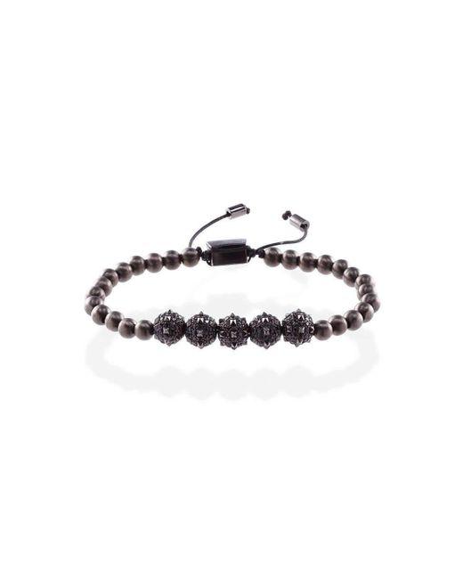MARCOS DE ANDRADE - Morning Star Spike Bracelet In Titanium Black - Lyst