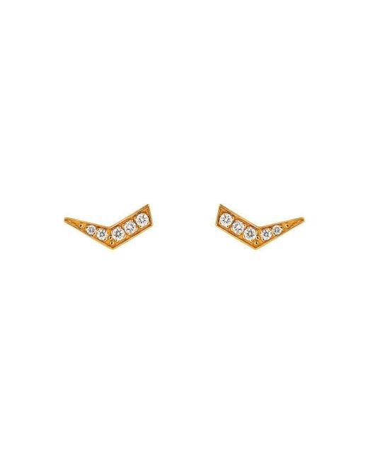 Mimata - Metallic Indra Earrings - Lyst