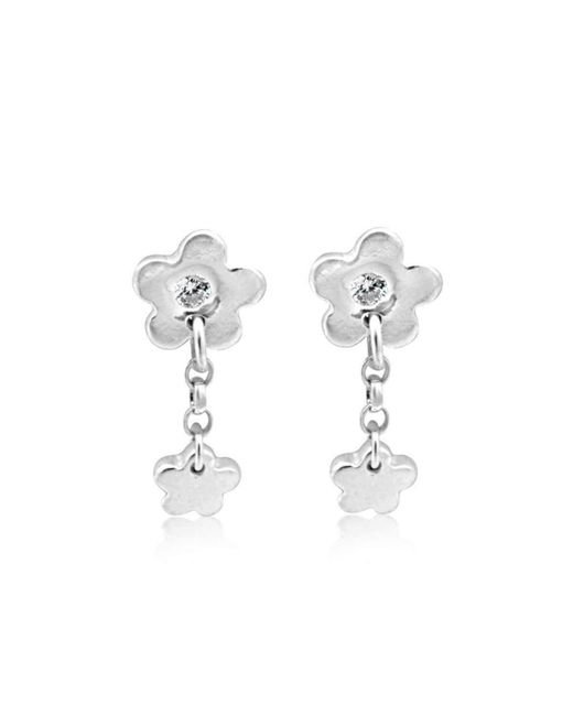 Designs by JAK - Multicolor Fiore Blossom Earrings - Lyst