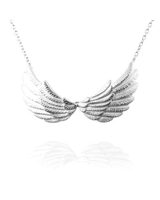 Jana Reinhardt Jewellery - Multicolor Sterling Silver Double Wing Necklace - Lyst