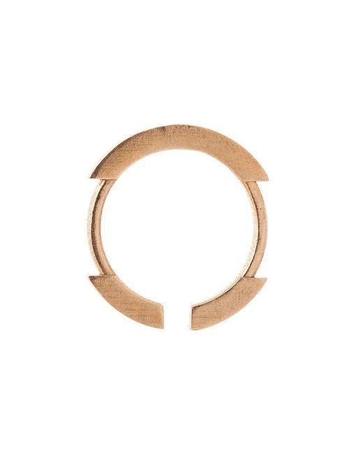 Lumitoro - Multicolor Stickii Ring Ii Raw Bronze - Lyst