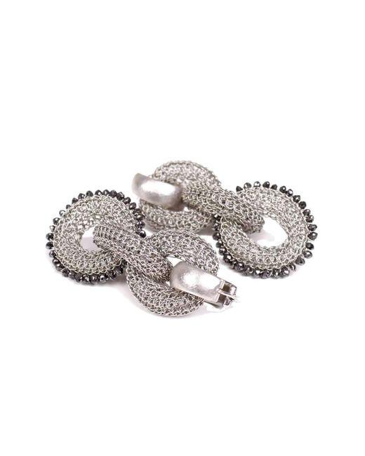Tove Rygg - Metallic Goddess Ocean Link Earrings - Lyst