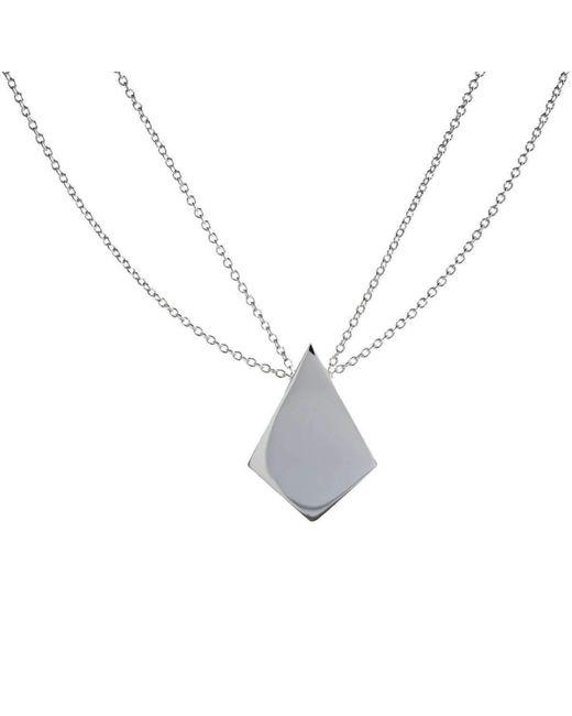 Ali Haley | Metallic Metrica Kite Necklace | Lyst