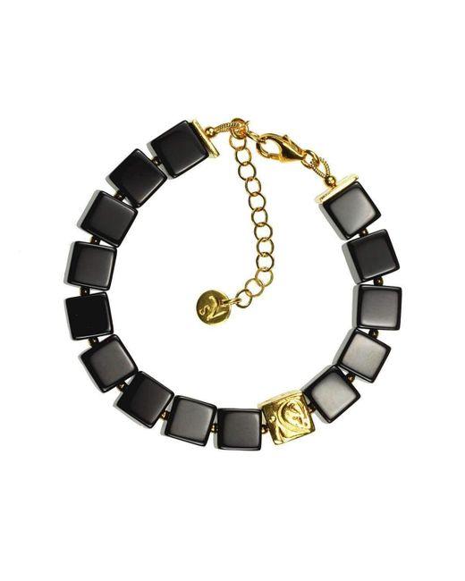 Sima Vaziry - Multicolor Gateway Onyx Bracelet - Lyst