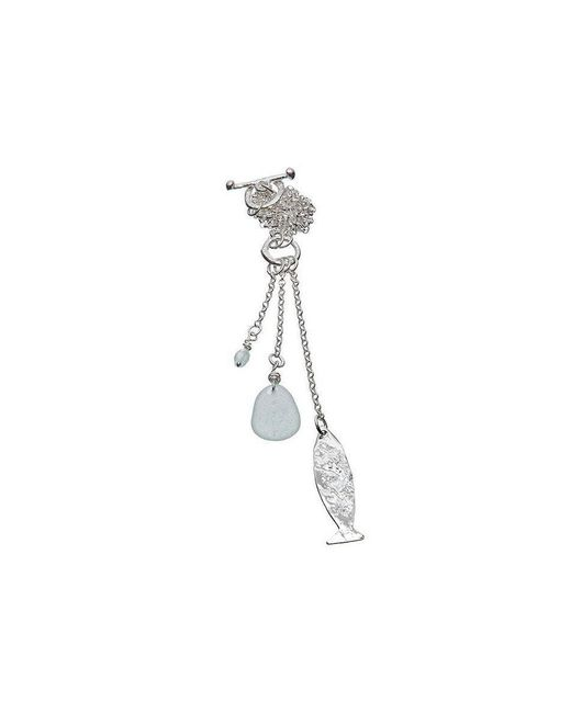 Kate Chell Jewellery - Metallic Fish Necklace - Lyst