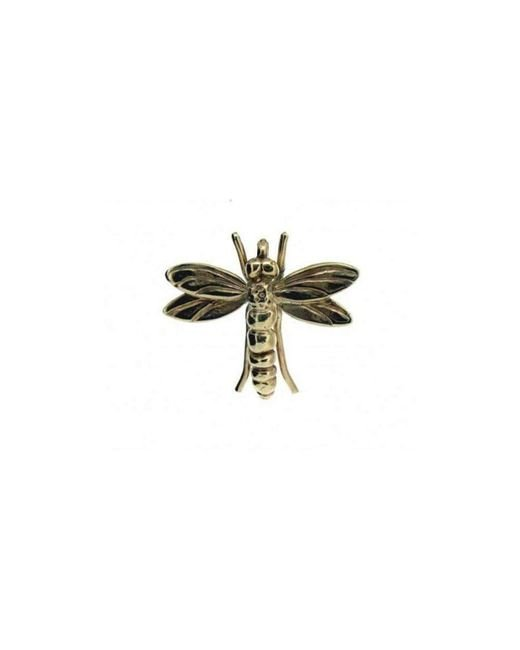 Will Bishop | Metallic Gold Dragonfly Pendant Without Chain | Lyst