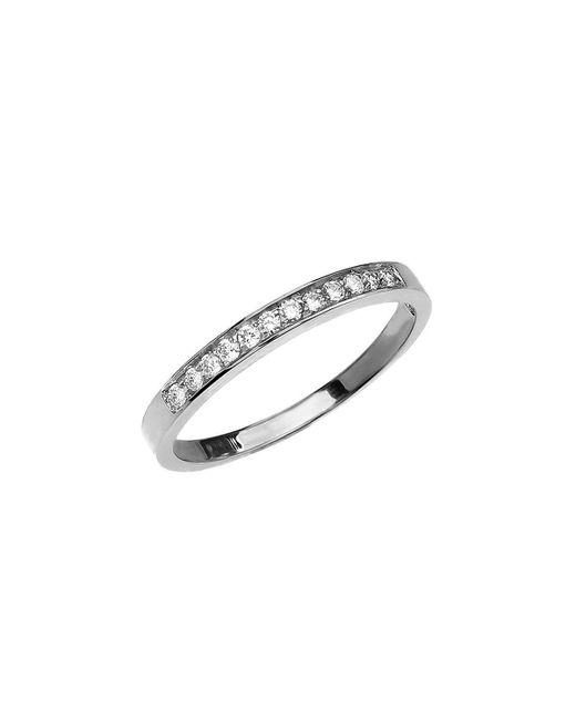 QP Jewellers   Metallic Diamond Half Eternity Wedding Ring In 9kt White Gold   Lyst