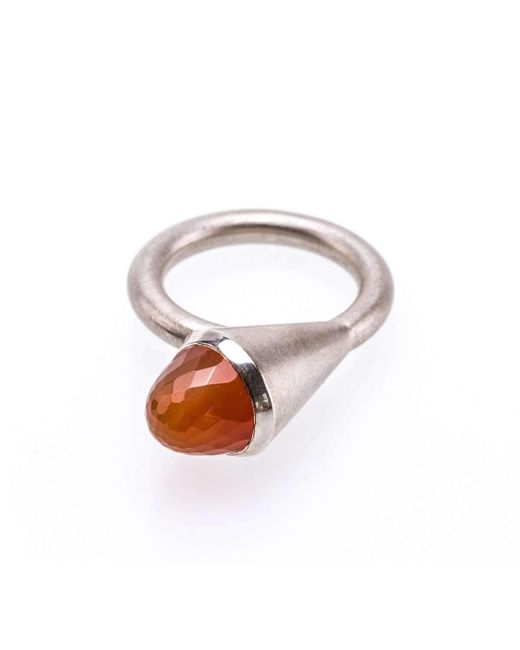 Susanne Siegert - Multicolor Nightclub Ring With Carnelian - Lyst