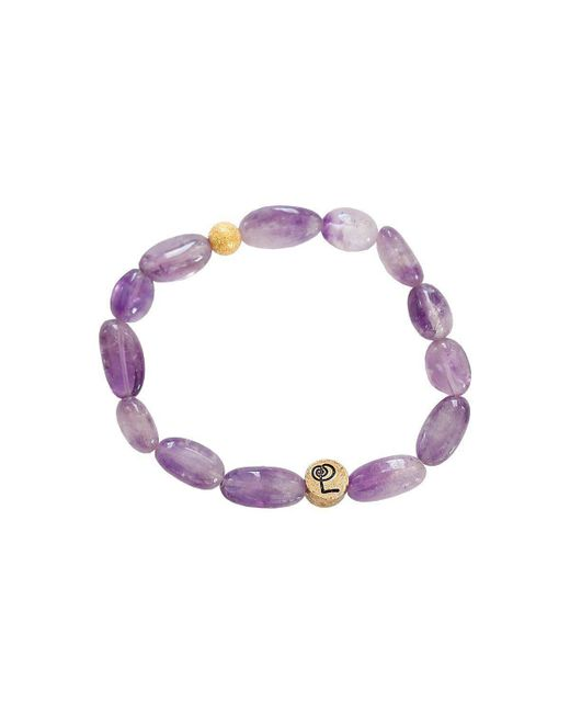 Lucy and Penny - Multicolor Healing Amethyst Bangle - Lyst
