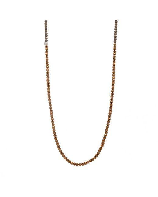 Faystone - Metallic Mars Necklace - Lyst