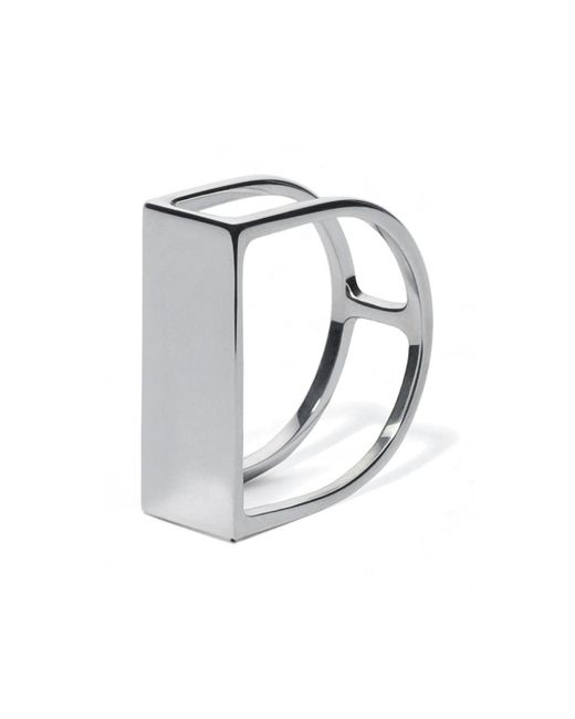 Carao Jewelry - Metallic Sterling Silver Timeless Ring - Lyst