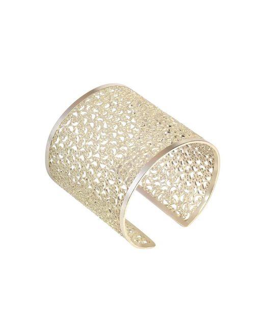 Agora Jewellery - Metallic Filigree Baru Cuff Bracelet - Lyst