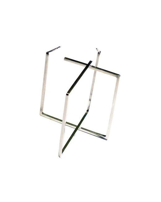 Stephanie Bates - Multicolor Square Hoops - Lyst