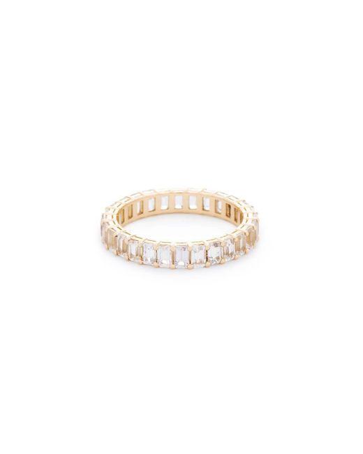 VOA Fine Jewellery | Multicolor Signature Emerald White Eternity Ring | Lyst