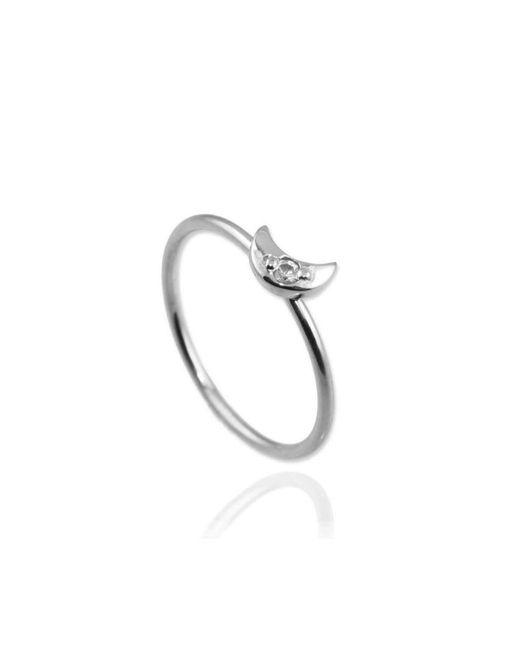 Jana Reinhardt Jewellery | Metallic Moon Ring | Lyst