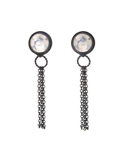 Sian Bostwick Jewellery - Multicolor Nautilus Spyglass Earrings - Lyst
