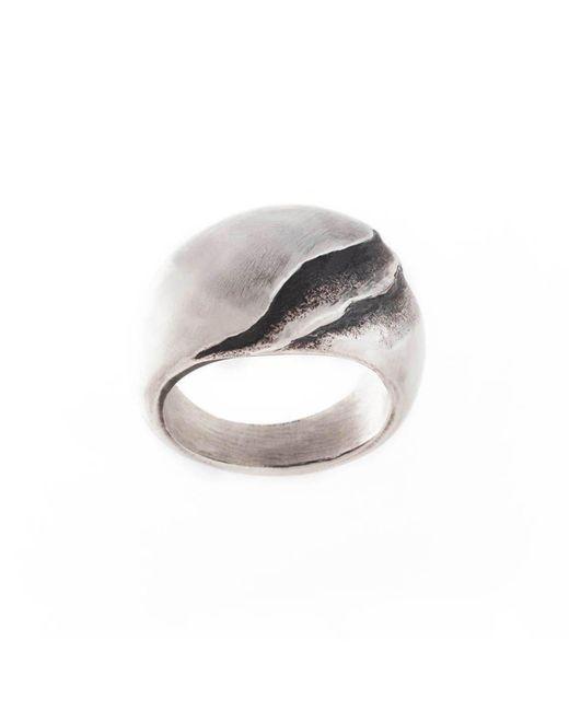 Poul Havgaard Jewelry - Metallic Asymmetric Silver Ring - Lyst