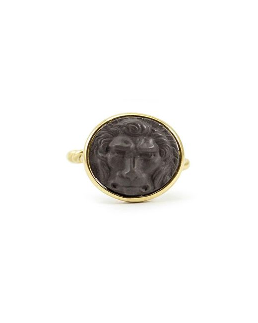Vintouch Italy - Multicolor Lion Cameo Ring - Lyst