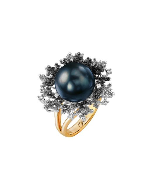Chekotin Jewellery | Multicolor Coral Reef Eden Ring | Lyst