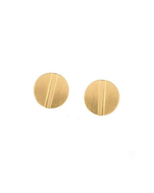 Joanna Laura Constantine - Metallic Large Nail Stud Earrings - Lyst